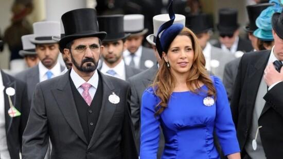 Принцесса Хайя и ее муж, шейх Дубая. Фото Sun