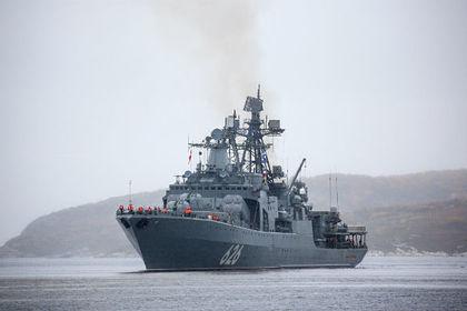 Большой противолодочный корабль «Вице-адмирал Кулаков» Фото: Павел Львов / РИА Новости