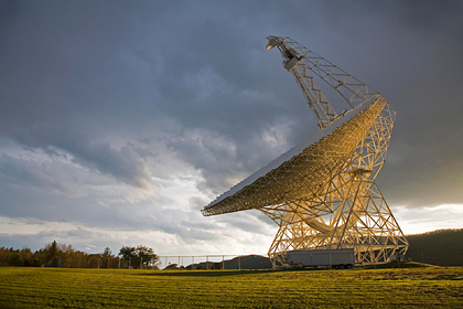 Радиотелескоп Грин-Бэнк Фото: Jim West / Globallookpress.com